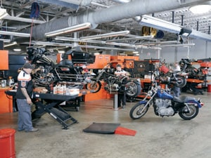 Pikes Peak H-D Service Department